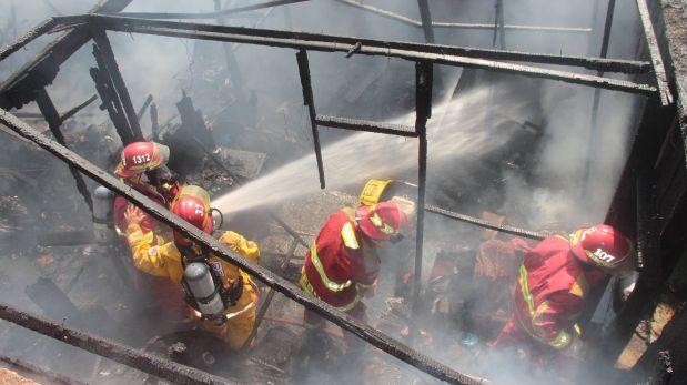 Áncash: reciclador murió tras incendiarse su casa en Chimbote
