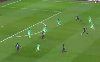 Golazo de Draxler: jugada nació en pelota que perdió Messi