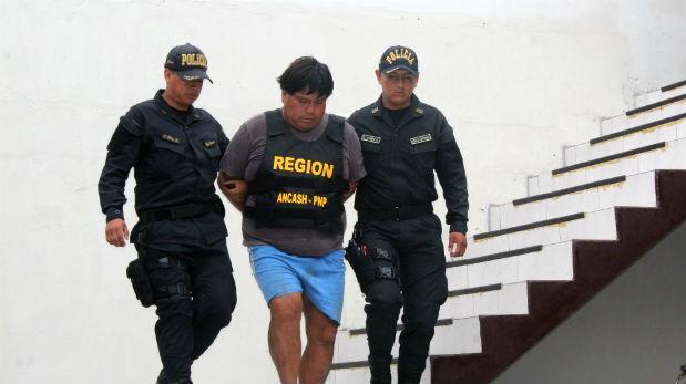 Áncash: capturan a acusado de atentar contra Ezequiel Nolasco