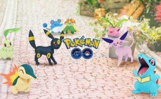 Pokémones de la segunda generación llegaron a Pokémon Go