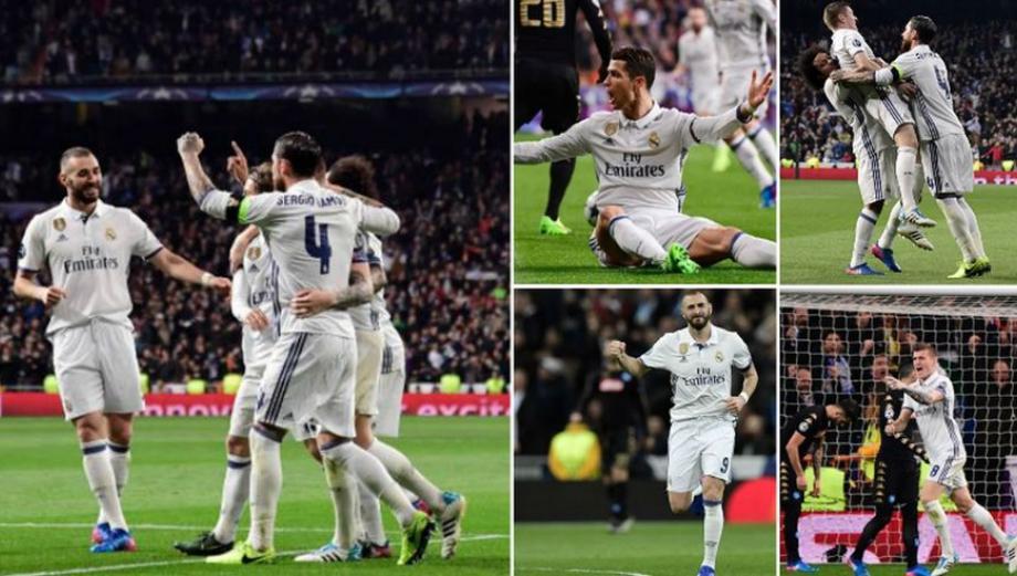 Fiesta blanca: postales de la goleada del Madrid en Champions