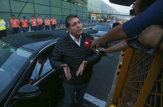 Alan García dice que no tiene temor ante Caso Odebrecht [FOTOS]