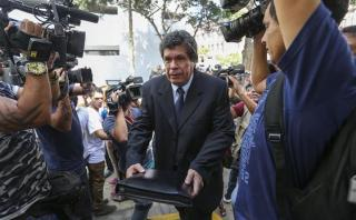 Benítez alistaría un hábeas corpus a favor de Alejandro Toledo