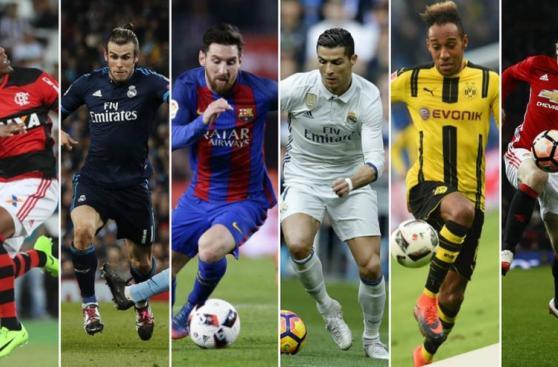 Conoce a los diez futbolistas más veloces del planeta [FOTOS]