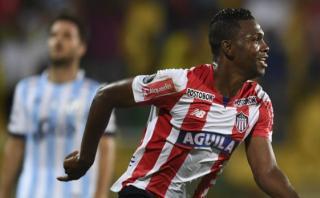 Junior derrotó 1-0 a Atlético Tucumán con gol de Aponzá