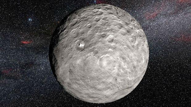 Detectan compuestos orgánicos en planeta enano Ceres