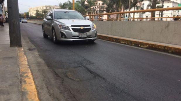 Lima culpa a Telefónica por fallas en by-pass de Av 28 de Julio