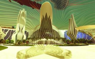 Así será la ciudad que Emiratos Árabes desea construir en Marte