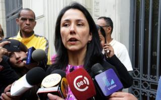 Nadine Heredia continúa de licencia sin goce en la FAO