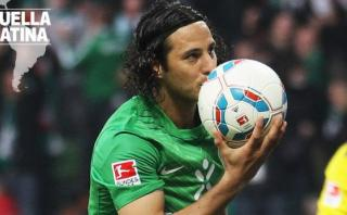 """Pizarro: Fox Sports destaca su """"historia de amor"""" con Bremen"""