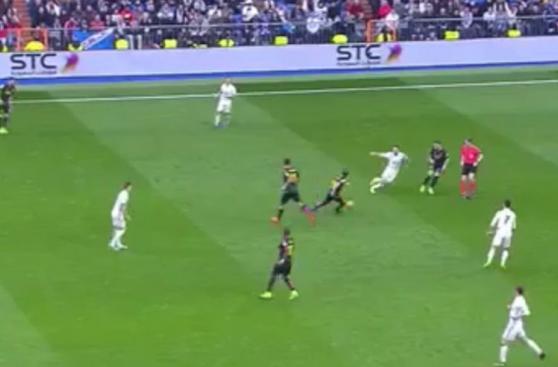 CUADROxCUADRO del contragolpe que acabó en gol de Gareth Bale