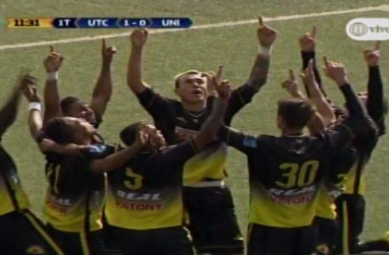 Universitario: UTC abrió el marcador con este penal de Millán