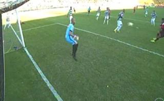 Guerrero estuvo cerca de marcar pero arquero rival lo evitó