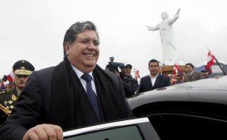 """García sobre Cristo del Pacífico: """"Si quieren echarlo, échenlo"""""""