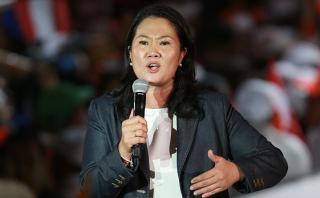 Keiko Fujimori defiende proyecto de ley sobre control de medios