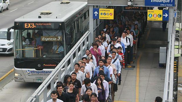 Lima le debe unos US$150 millones a operadores de Metropolitano
