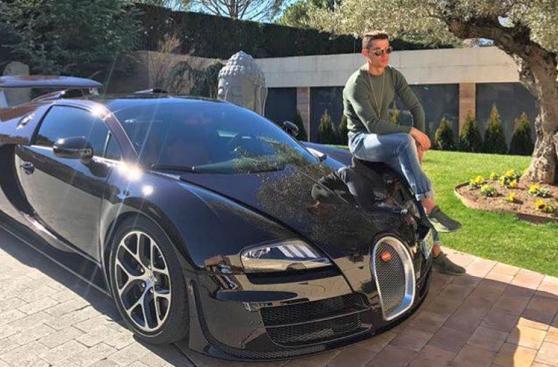Cristiano Ronaldo: los 22 autos de la estrella del Real Madrid