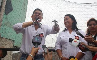 """Galarreta: """"Esta es una campaña montada contra el fujimorismo"""""""