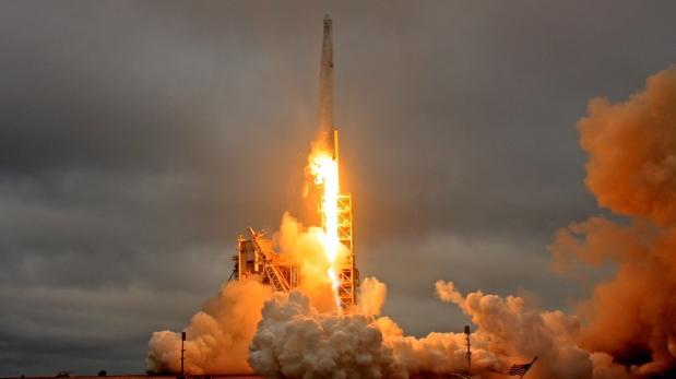 La cápsula Dragon no logró llegar a la Estación Espacial