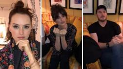 Actores buscan que Daisy Ridley revele secretos de Star Wars