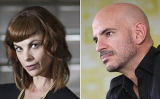 Ricardo Morán y Fiorella Rodríguez presentaron el Oscar en Perú