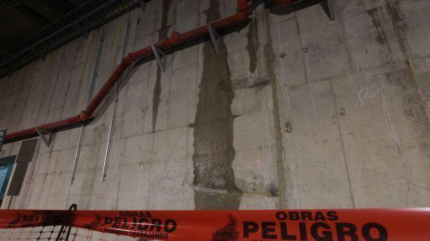 Fiscalía halla fisura en el techo del túnel de Línea Amarilla