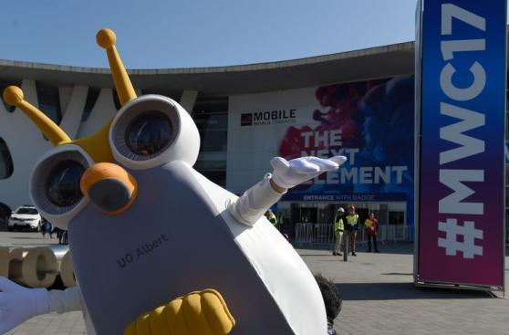 MWC: así se va instalando el congreso de móviles en Barcelona