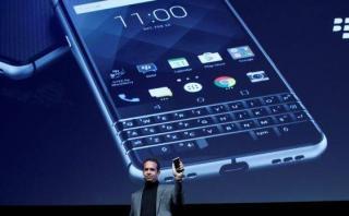 MWC 2017: BlackBerry presentó KEYone, su nuevo móvil [VIDEO]
