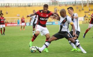 Con Guerrero y Trauco: Flamengo ganó 1-0 a Vasco por el Carioca