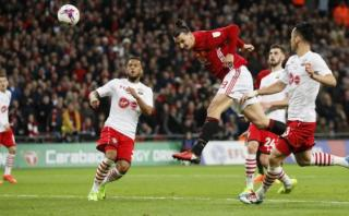 Ibrahimovic le dio título al Manchester United con este gol