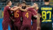 Roma superó 3-1 al Inter de Milán de visita por la Serie A