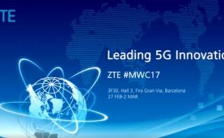 MWC 2017: ZTE anunció primer teléfono inteligente 5G