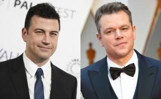 La cruel broma de Jimmy Kimmel a Matt Damon en el Oscar [VIDEO]
