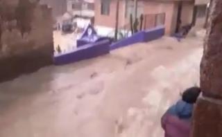 Carretera Central bloqueada por huaicos en Chosica y Huarochirí