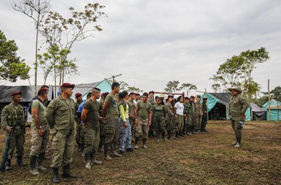 Colombia: Las FARC empezaron a decirle adiós a las armas