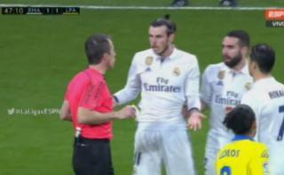 Gareth Bale fue expulsado por esta absurda agresión [VIDEO]