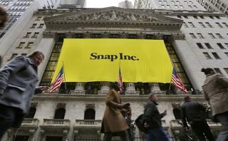 Snapchat debuta hoy en Wall Street: cada acción costará US$17