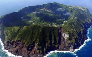 Aogashima, el pueblo japonés que vive dentro de un volcán