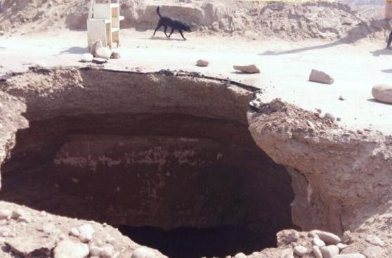 Enorme agujero restringe el tránsito en puente de Huachipa
