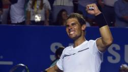 Rafael Nadal alcanzó la final del Abierto de Acapulco