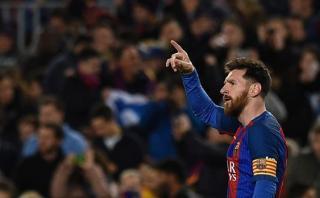 Lionel Messi y una genialidad: velocidad, regate y golazo
