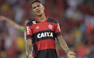 Paolo Guerrero anotó golazo pero Flamengo cayó ante Fluminense