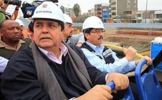 Procuraduría denuncia a García y Cornejo por metro de Lima