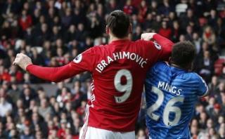 Zlatan Ibrahimovic fue acusado por conducta violenta en partido