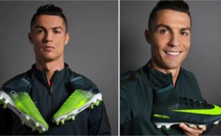 Cristiano Ronaldo: Nike rinde tributo con novedosos chimpunes
