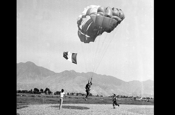 Paracaidistas peruanas: Un salto de valentía y coraje