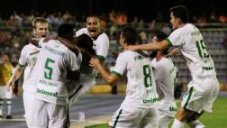 El histórico primer tanto de Chapecoense en Copa Libertadores