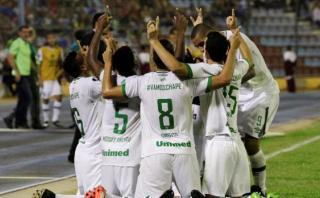 Chapecoense derrotó 2-1 a Zulia en debut de Copa Libertadores