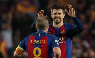 Piqué dio curiosa declaración luego de remontada del Barcelona