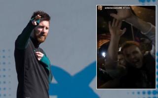 Lionel Messi y la locura que vivió al salir del Camp Nou